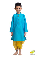 Kurta with Printed Dhoti set