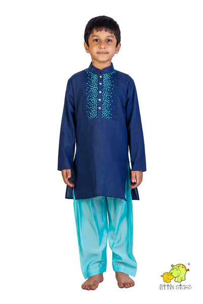 French Knot Kurta Salwar Set