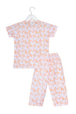 Forest Animals Printed Nightsuit