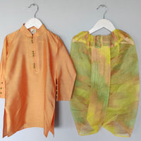 Kurta with Shaded Dhoti set