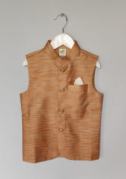Self Design Nehru Jacket (Jacket only)