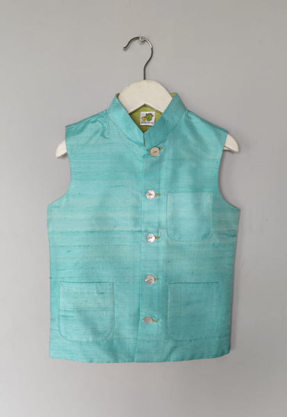 Solid Coloured Nehru Jacket (Jacket only)