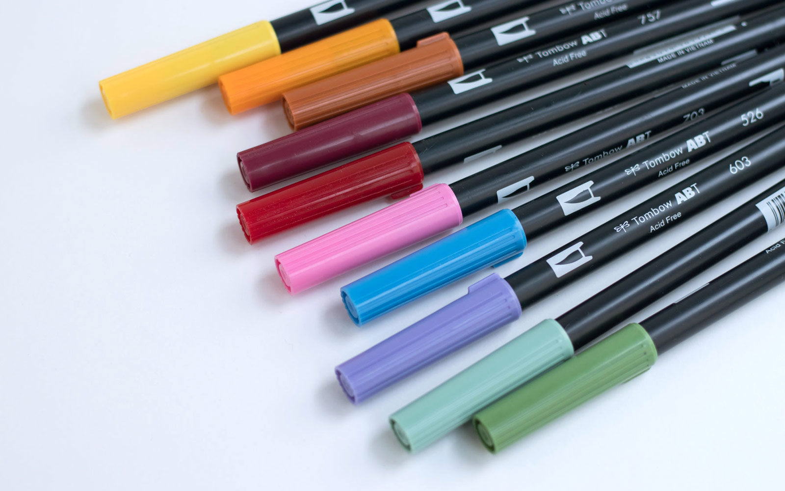 Tombow ABT Dual Brush Pens London Stationery - Tombow abt