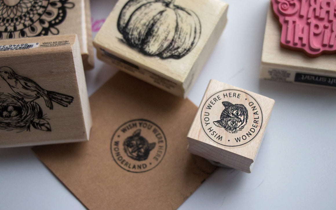 Wooden stamps sets
