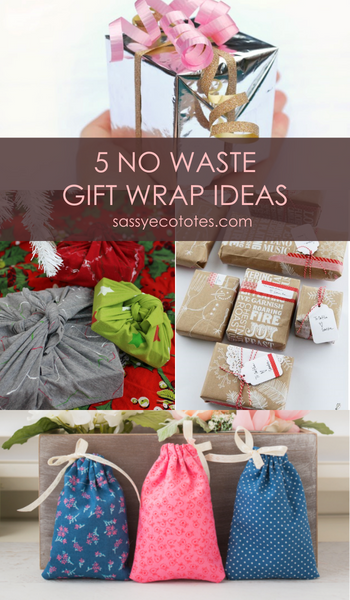 5 Eco-Friendly Gift Wrap Ideas