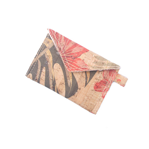 Natural Leaf Vegan Credit Card Cash Holder