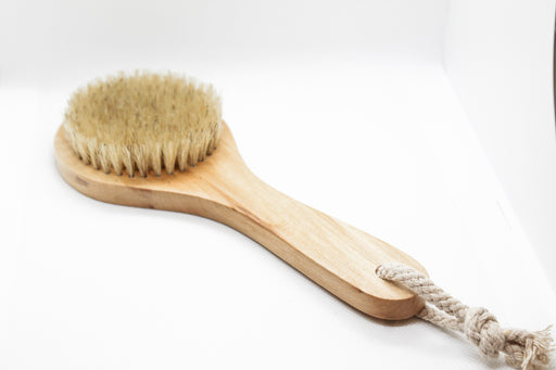 dry brush : natural bristle w/ handle - The Lovely Loba Lotion Ball Blends