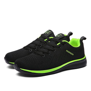 Men's Flying Woven Lightweight Breathable Running Shoes