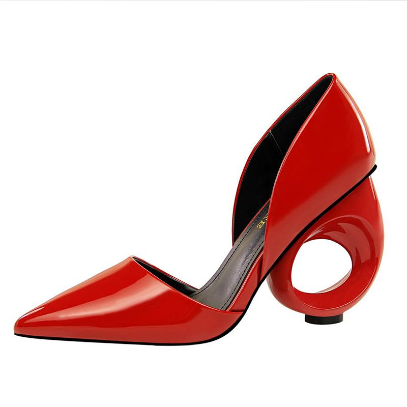 Strange High Heel Pointed Toe Party & Evening Shoes