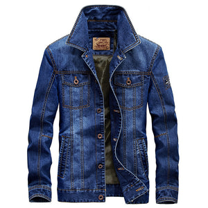 JK63 Plush Denim Jacket