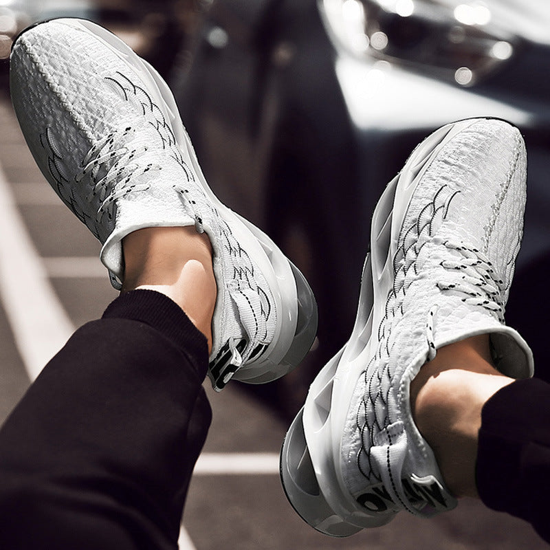 Fish Scale Hip Pop Sneakers