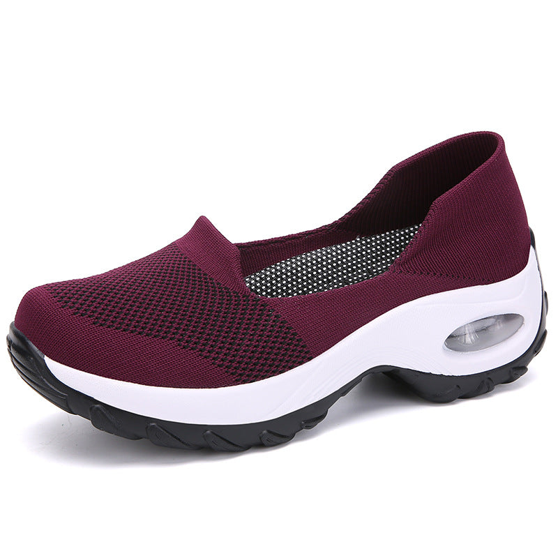 Womens Slip on Sneaker Comfortable Walking Shoes