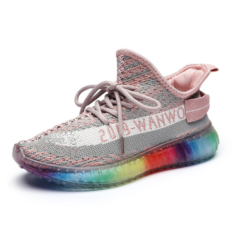Rainbow Jelly Sneakers