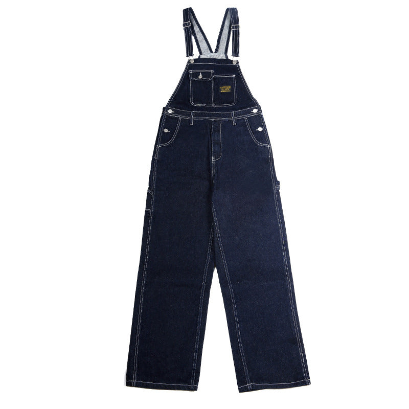 American Retro Denim Overalls