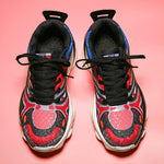 Facial Pattern Sneakers