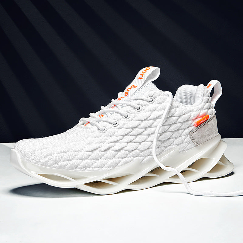 Fish Scale Blade Sneakers