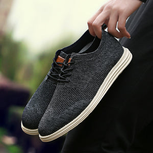 Flying Woven Fashion Casual  Oxford Shoes