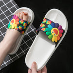 Household indoor sandals non-slip bathroom slippers soft bottom home slippers