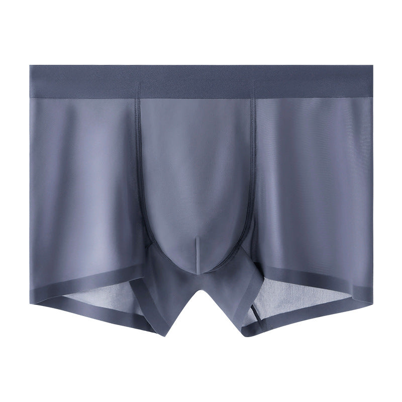 Men's Ice Silk Ultra-Thin Breathable Boxer Briefs