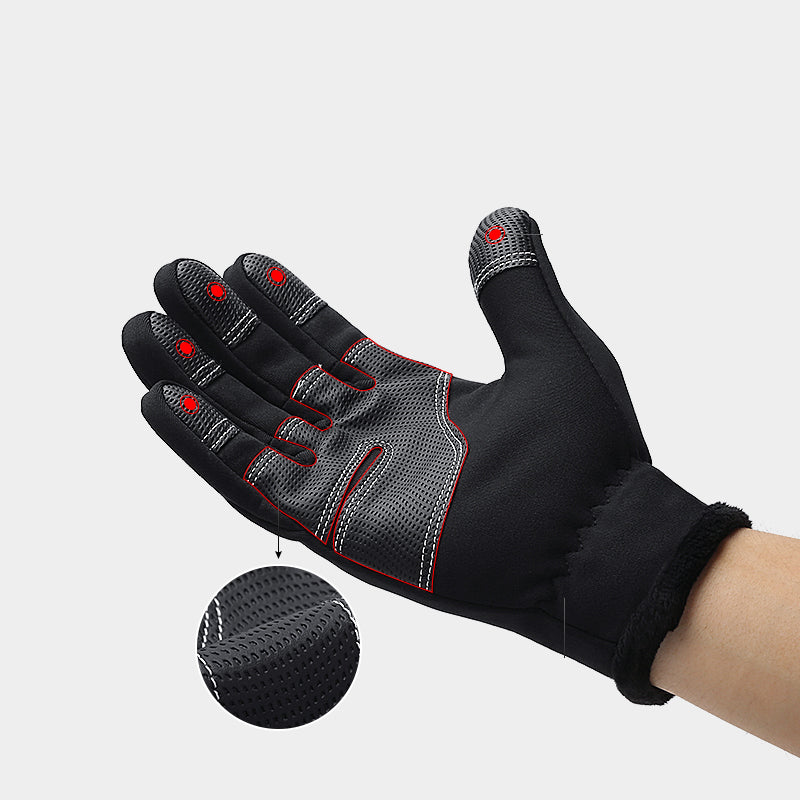 Warm Touch Screen Gym Fitness Full Finger Glove