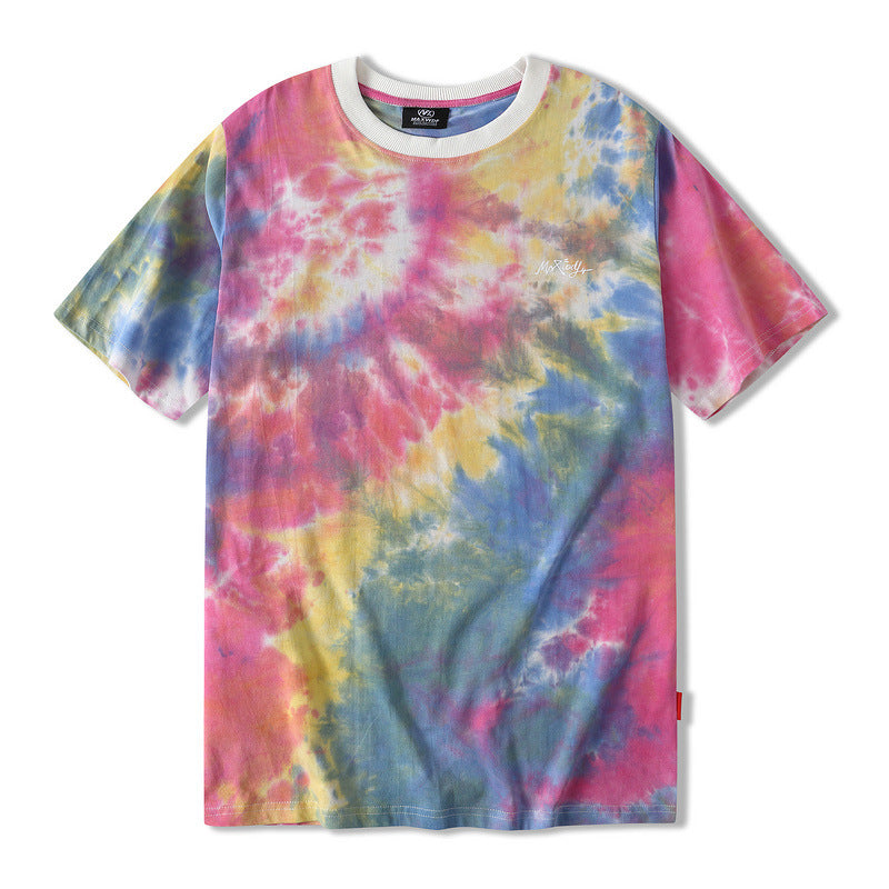Loose Gradient Short Sleeve T-shirt