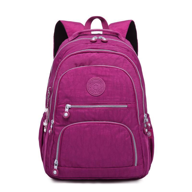 School Backpack for Teenage Girl Waterproof Large Capacity Travel Backpack