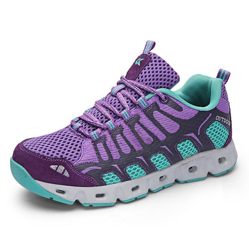 Women's Breathable Flying Woven Hiking Shoes