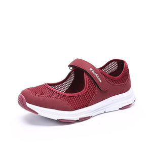 Women's Non-skid So Comfy Casual Strap Sneakers