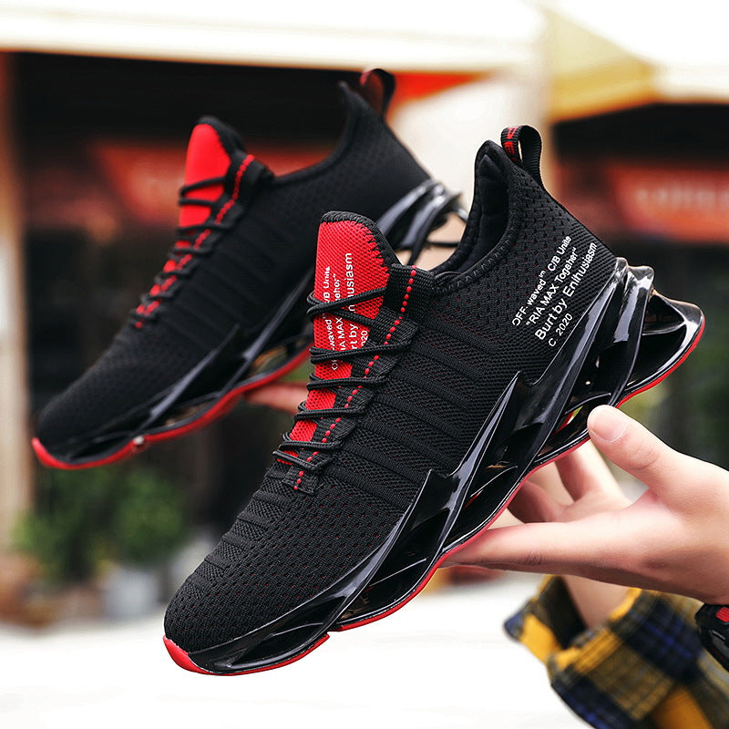 Men's Fly Woven Breathable Sneakers