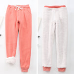 Lamb Velvet Warm Cotton Trousers