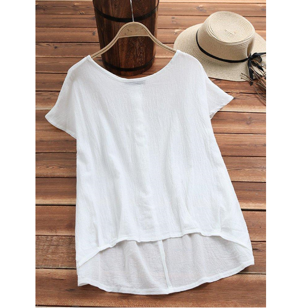 Short Sleeve Casual Tops