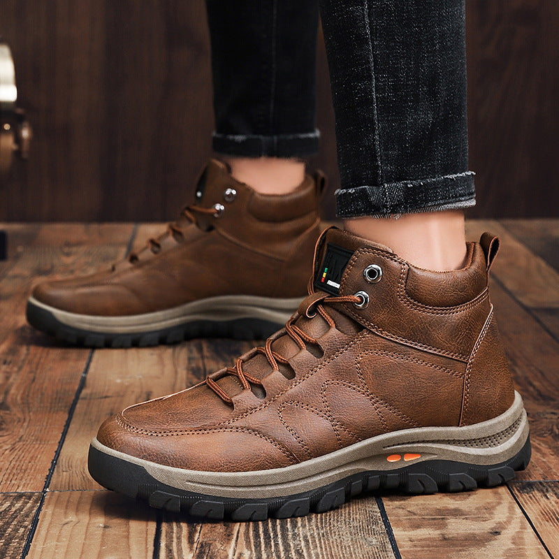 Men's High-top Anti-skid Outdoor Shoes