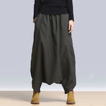 Women Harem Pants Casual H-line Casual Pockets