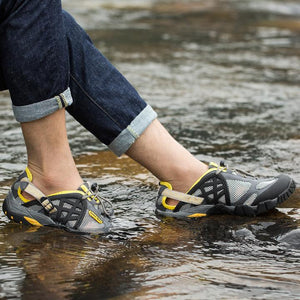 Unisex Men Women Outdoor Breathable Hiking Water Shoes(pay attention to the unisex size)