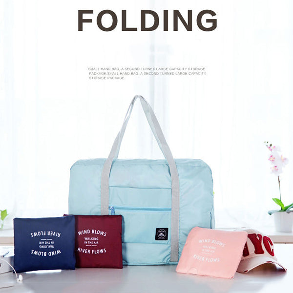 Portable Folding Travel Clothes Storage Bag