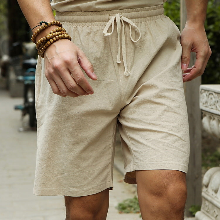 Men Baggy Loose Drawstring Casual Shorts