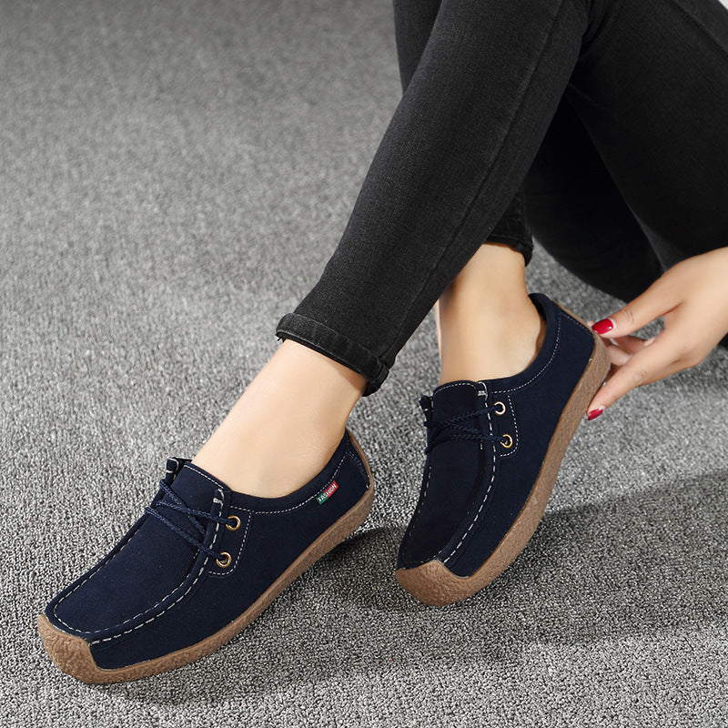 Women's Flats Genuine Leather Loafers