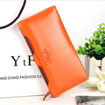 Women's wallet long section Korean fashion zipper clutch bag