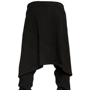Mens Hip-Hop Harem Pants Baggy Slacks Trousers