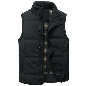 Men's Casual Cotton Vest Coat