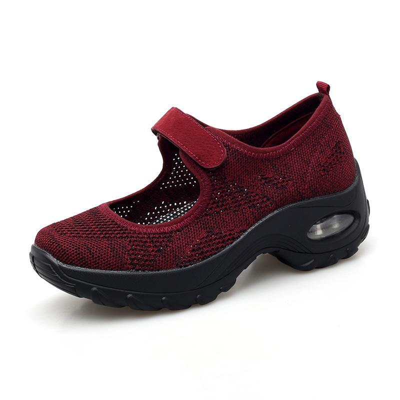 Women's Comfort Breathable Non-Slip Air Cushion Shock Sneakers
