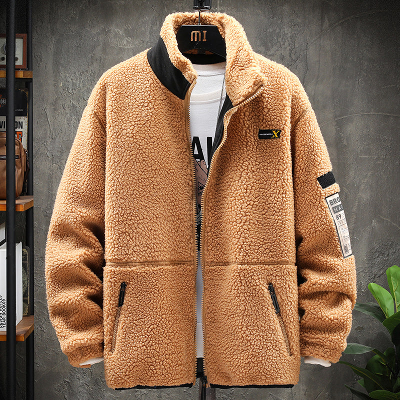 2020 Lamb Velvet Loose Casual Jacket
