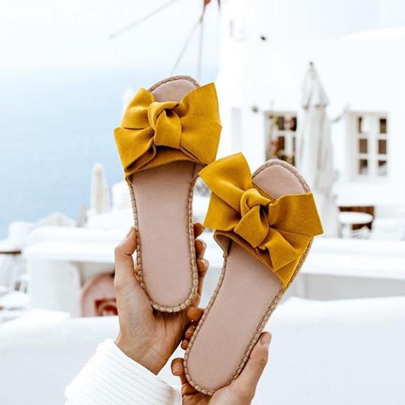 Bowknot Casual Sandal Shoes