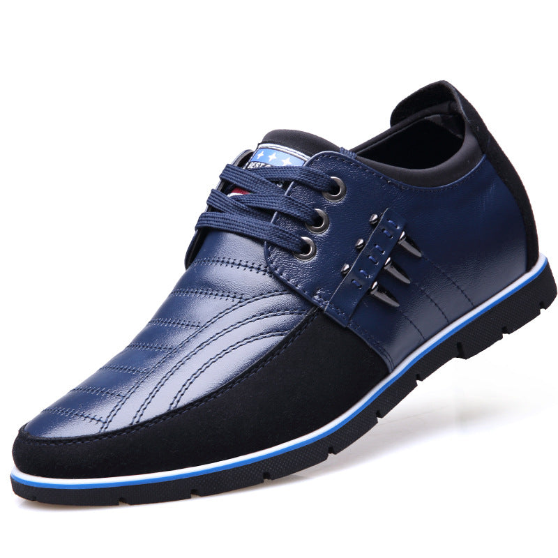 Men's Height Increasing Leather Casual Shoes