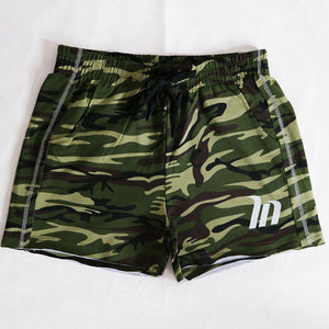Men's Elastic Waist Casual Sports Jogger Shorts