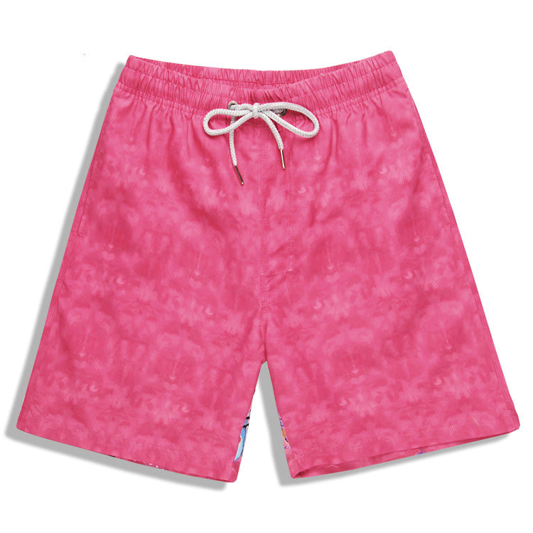 3D Print Puppy Loose Couples Beach Shorts