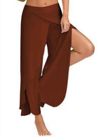 Exercise Yoga Pants Wide Leg Pants