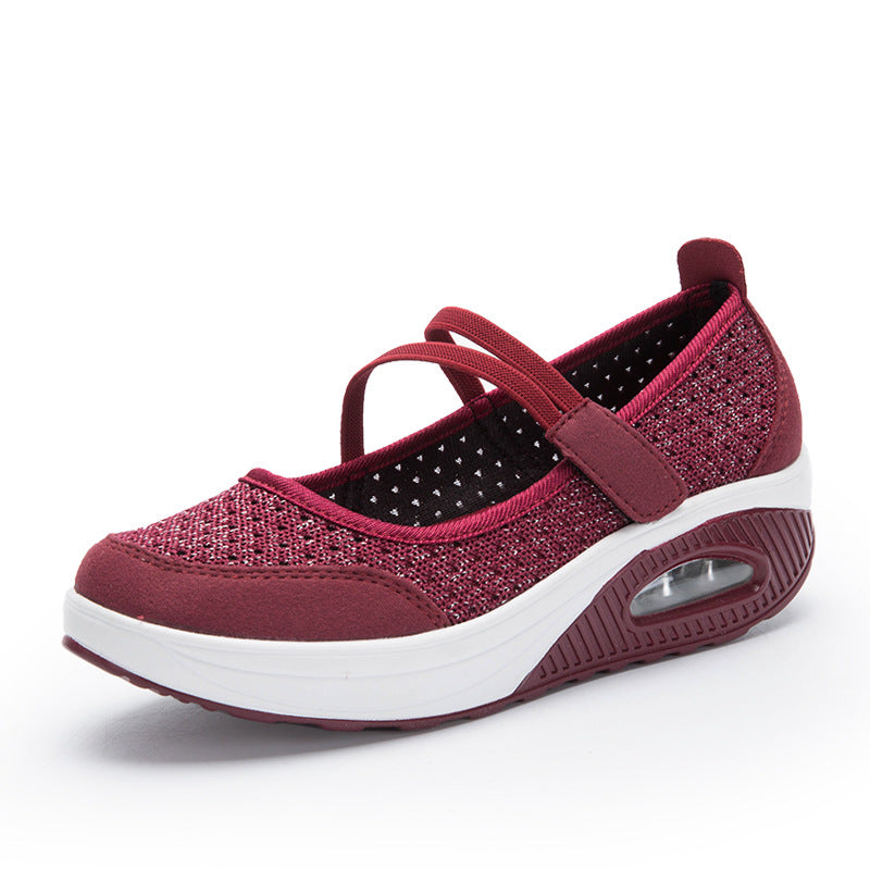 Women's Breathable Mesh Non-slip Walking Sneakers