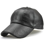 Men's Autumn And Winter Print Simple Outdoor Baseball Cap