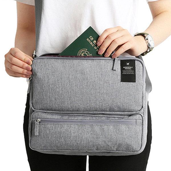Unisex Shoulder Bag Large Capacity Multi-functional Crossbody Bag
